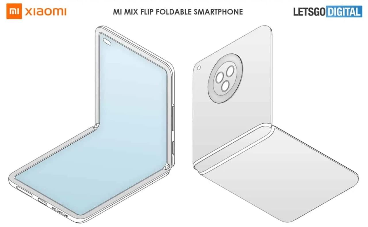 这就是小米Galaxy Z Flip 3竞争对手的样子