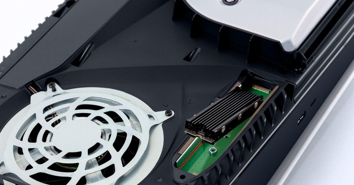 PS5 即将推出的软件更新增加了 M.2 SSD 存储扩展、内置电视扬声器