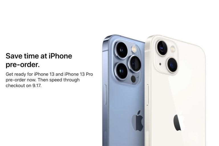 以下是周五通过一步流程预订 iPhone 13 的方法