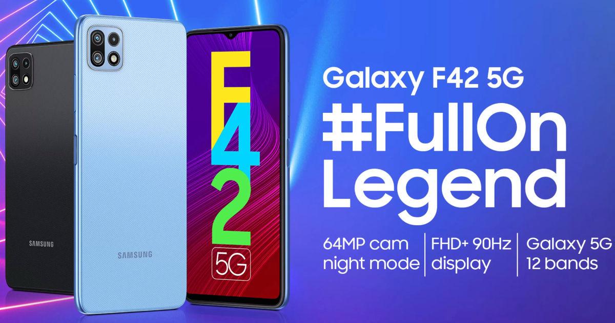 三星 Galaxy F42 5G 将于 9 月 29 日在印度推出:预期规格、功能