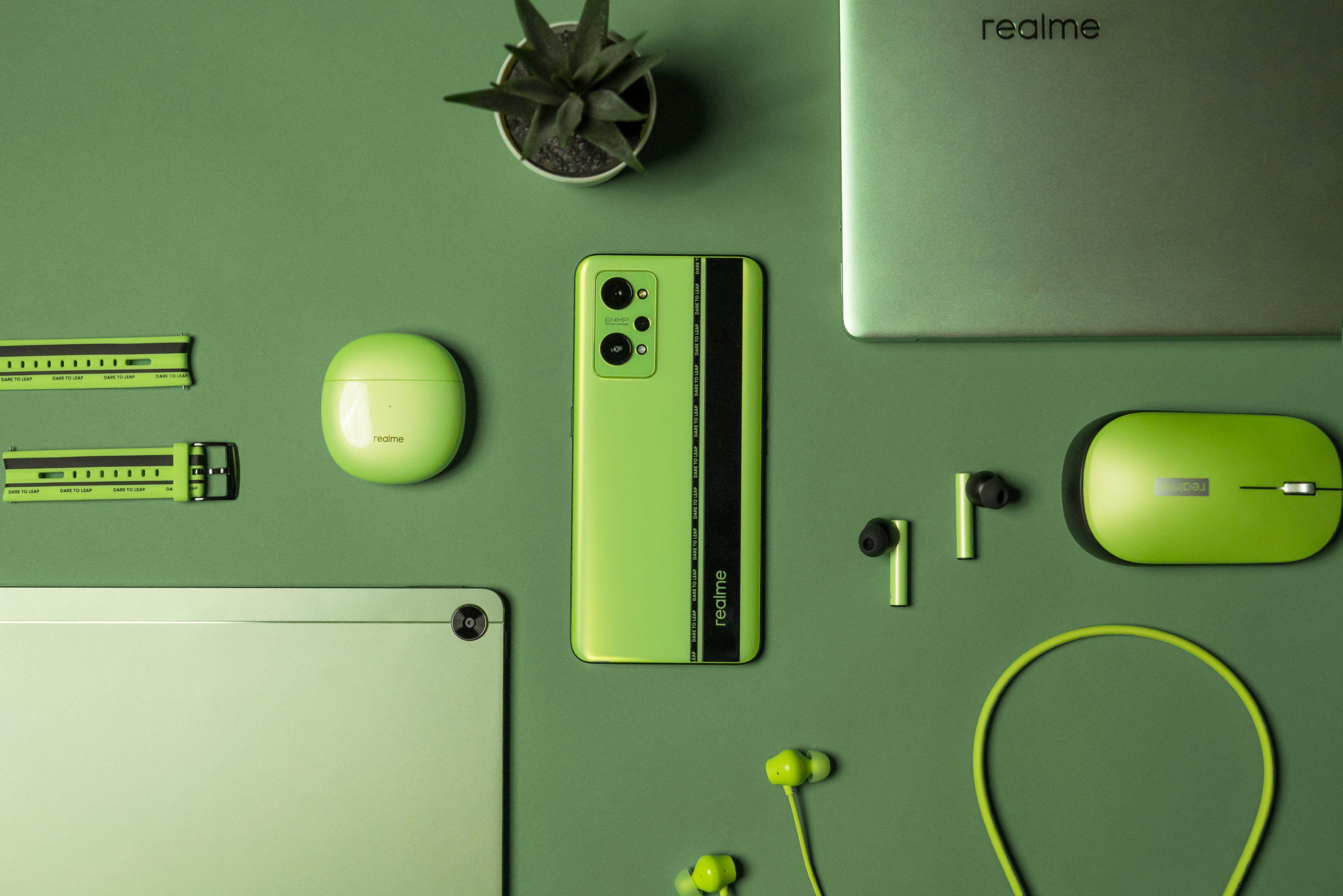 Realme Pad、Realme Book Green Color 选项即将推出:这是您需要知道的