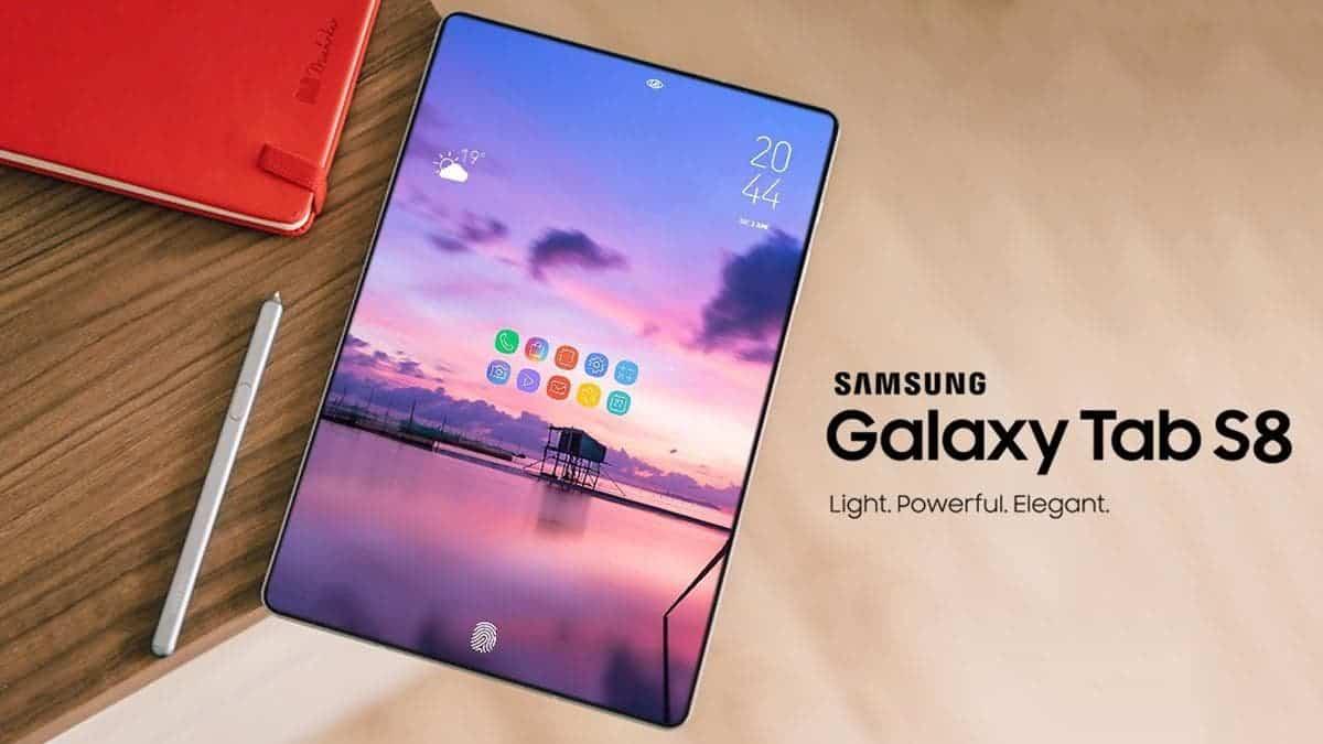 三星 Galaxy Tab S8 Ultra 设计呈现侧切显示屏、双后置摄像头等